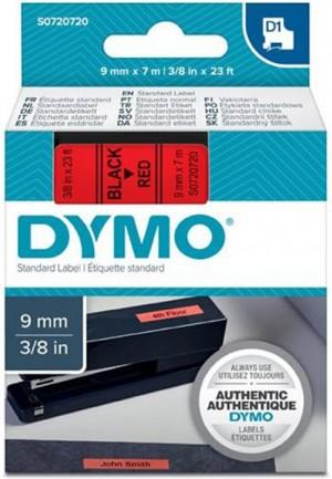 Páska DYMO do štítkovača 40917 D1 Black On Red Tape (9mm)