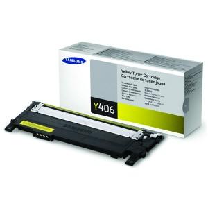 Toner original Samsung CLT-Y406S yellow 1000 str. Samsung CLP-360, 365
