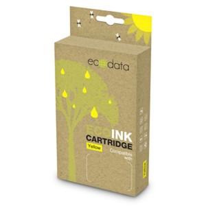 Toner Canon 0334C001 yellow XL 12ml, kompatibil. EcoData CLI-571Y XL