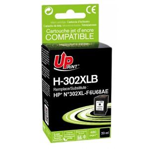 Toner kompatibil ink HP 302XL, H-302XLB black 480 ml 20 ml