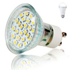 LED žiarovka Inoxled GU10, 230V, 2W, 165lm, studená biela, 60000h, ECO