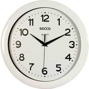 Nástenné hodiny SECCO S TS6026 28 cm b/b