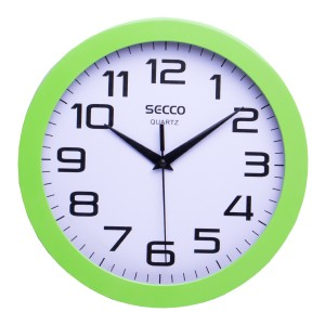Nástenné hodiny SECCO TS6018-37 25 cm zelené