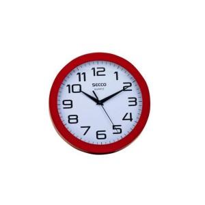 Nástenné hodiny SECCO TS6018-47  25cm červené