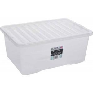 BOX s vekom 45L biely WHAM