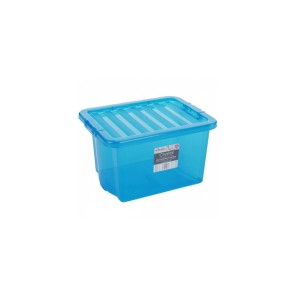 BOX s vekom 24L modrý WHAM