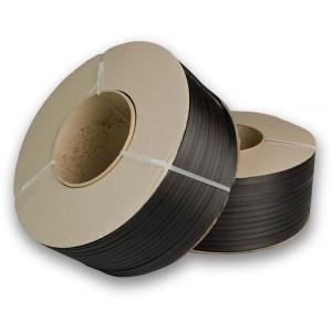 Viazacia páska PP 12mm/0,55/2500m/200d čierna