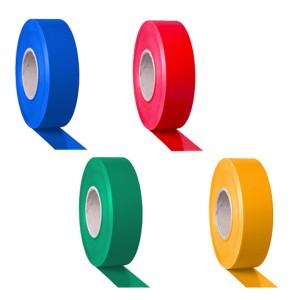 Páska PVC, Tarifold, výstražná, 50mmx48m - červená