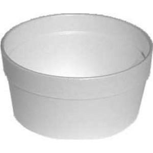 Termo-miska okrúhla biela 340 ml [25 ks]
