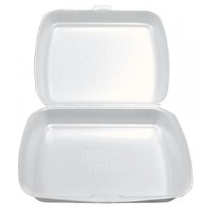 Menu box nedelený biely 250 x 205 x 75mm [125 ks]