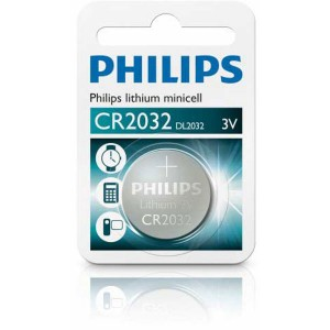 Batéria Philips LITHIUM CR2032 3V  ph2032
