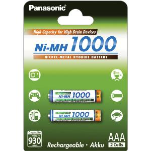 Batéria PANASONIC HR03 AAA 4HGAE/2BE HICAP 1000 nabíjacia - NEDOSTUPNÉ
