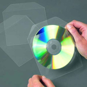 Nelepiace vrecko 3L na CD/DVD s klopou/100ks ll10297