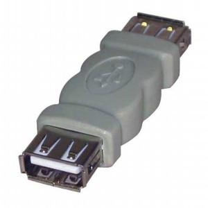 Redukcia USB, A socket/A socket, LOGO