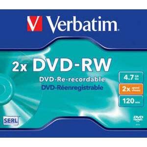 DVD-RW VERBATIM 4 7GB 2x