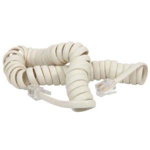 Kábel telefónny, 2 žily, RJ11 M-RJ11 M, 4m, krútený