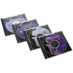 Obal na CD jewel čierny tray gd8890