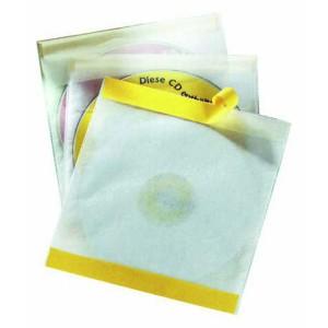 Vrecko na CD/DVD FIX samolepiace s klopou
