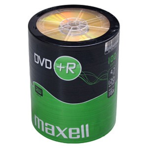DVD+R MAXELL 4,7GB 16X 100ks/spindel