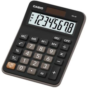 Kalkulačka Casio MX 8 b Bk čierna