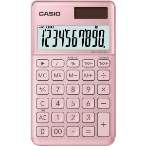 Kalkulačka Casio SL 1000 SC PK ružová