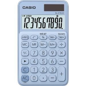 Kalkulačka Casio SL 310 UC  LB svetlomodrá