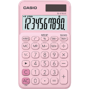Kalkulačka Casio SL 310 UC PK ružová