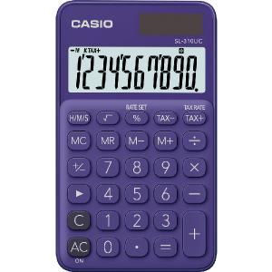 Kalkulačka Casio SL 310 UC PL fialová