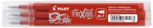 Náplň Pilot FriXion 0,7- 3ks, červená