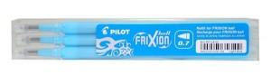 Náplň Pilot FriXion 0,7 - 3ks, svetlomodrá