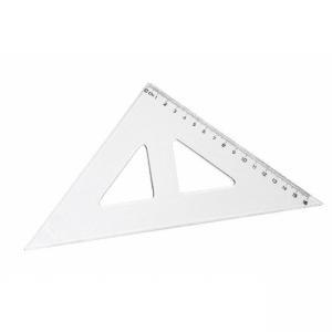 Pravítko Koh-i-noor trojuholník s kolmicou transparentný
