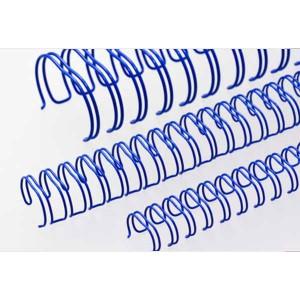 Drôtový hrebeň , 9,5mm, 3:1, 34 otvorov, modrá