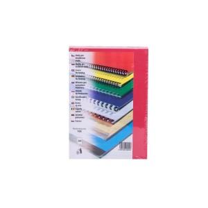 Kartónové obálky delta A4, červená  re274002