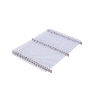 Drôtový hrebeň , 9,5mm, 3:1, 34 otvorov, biela  dh9500