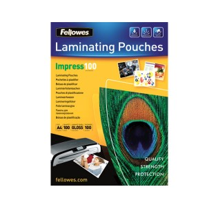 Laminovacie fólie 216x303 (A4), 100mic  re04100
