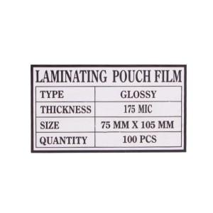 Laminovacie fólie 75x105, 175mic  RE75175