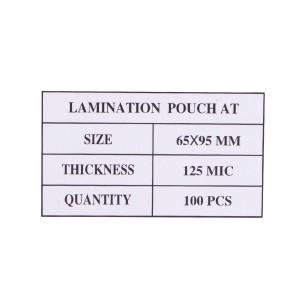 Laminovacie fólie 65x95, 125mic  re659525
