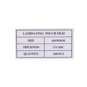 Laminovacie fólie 65x95, 175mic