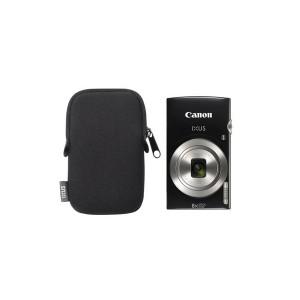 Digitálny fotoaparát Canon IXUS 185, originálne púzdro - čierny
