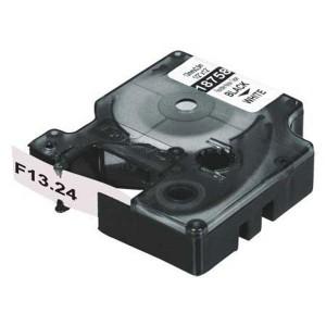 Flexibilná nylonová páska Dymo D1 12mmx3.5m biela/čierna 18488
