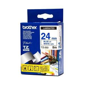 Páska TZ-253 24mm modrá/biela