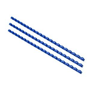 Plastový hrebeň 8mm, modrá  hr0803