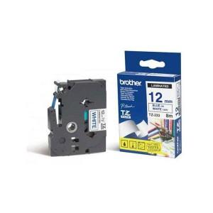 Páska TZ-233 12mm modrá/biela