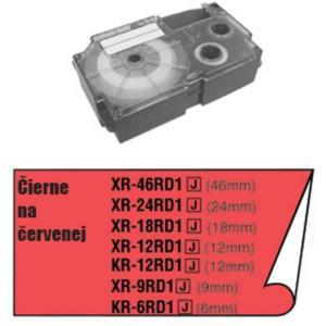 Páska Casio 9mm čierne / červená