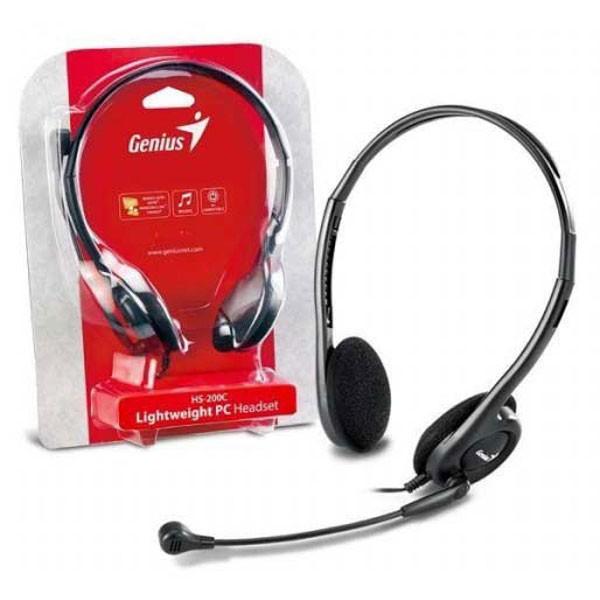 b0a65f06f Slúchadlá Genius HS-200C (s mikrofónom) - Reproduktory / Slúchadlá - PC  Príslušenstvo - Technika